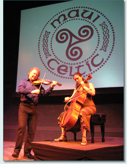 Alasdair Fraser & Natalie Haas at the Maui Arts & Cultural Center February '09