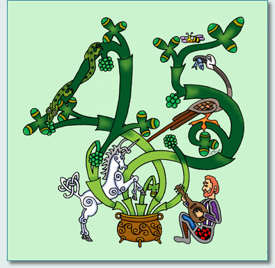 'Irish Rovers Tree of Life' by Hamish Burgess © 2010 for the New Irish Rovers CD 'Gracehill Fair'