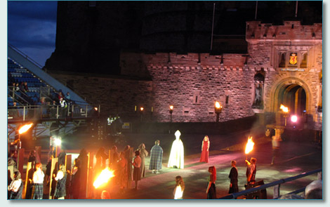 Aisling's Children: Tales of the Homecoming at the Edinburgh Castle Esplanade, The Gathering 2009