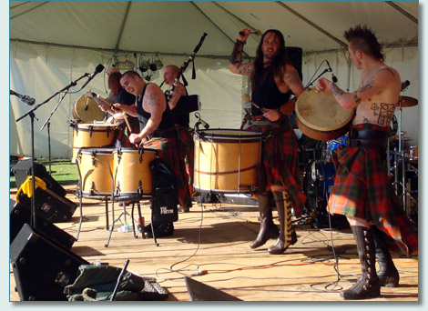 Albannach at the Central Florida Highland Games