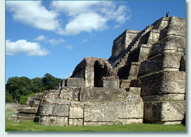 Mayan City of Altun Ha
