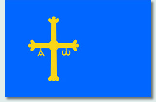 Principality of the Asturias flag