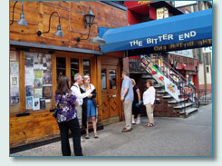 The Bitter End, Greenwich Village, New York