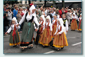 Grand Parade of the Festival de Cornouaille, Quimper, Brittany 2010