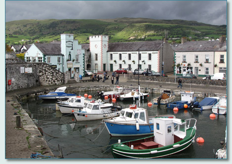 Irish Rovers at Carnlough Harbour, Co.Antrim, September 2010