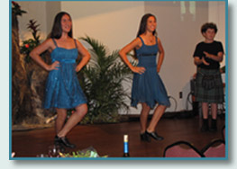 Celtic Keiki at the Friends of St.Patrick Emerald Ball, Honolulu 2010