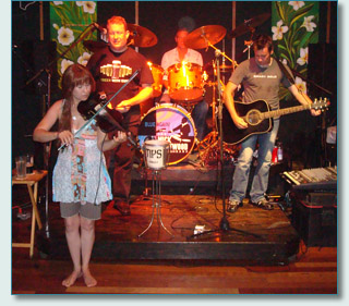 Celtic Tigers and Patric Petrie at Mulligans Wailea