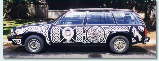 'Celtic Chariot' by Hamish Douglas Burgess