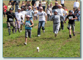 The Canadian Cheese Rolling Championships