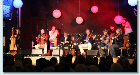 The Chieftains and friends, Buncrana for NAFCo 12