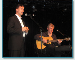 Ciaran Sheehan and Gabriel Donohue, Irish Music Cruise, Southern Caribbean 2010