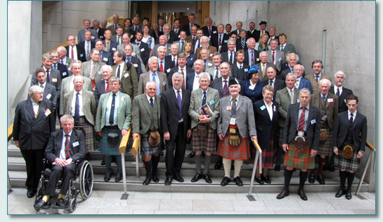 Clan Chiefs at the Clan Convention, Scottish Parliament, Edinburgh, Scotland, July 24th 2009