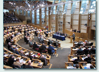 The first ever Clan Convention, Scottish Parliament, July 24th 2099