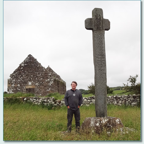 Cloncha High Cross, Culdaff, Inishowen, Donegal
