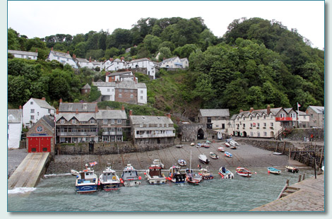 Clovelly Harbour, North Devon