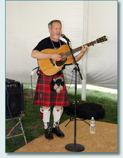 Colin Grant-Adams at the Hawaiian Scottish Festival, Waikiki, April 2013