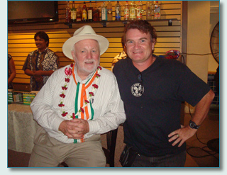 Derek Warfield and Hamish Burgess interview for the Maui Celtic Radio Show