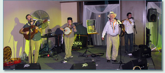 Derek Warfield & The Young Wolfe Tones at the Villa, Aloha Tower, Honolulu May 2011