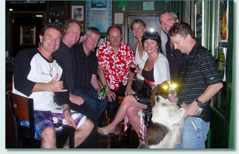 Hamish Burgess, Kevin O'Kennedy, Dervish and Finn and Mike O'Dwyer at Mulligans on the Blue, Wailea