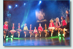 Doherty Irish Dancers, Irish Rovers filming, Waterfront Hall Belfast, Sept 2010