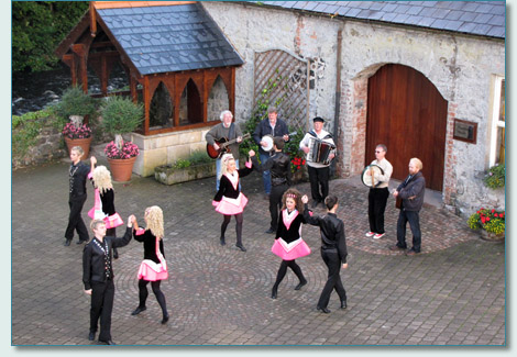 Doherty Irish Dancers and The Irish Rovers at Galgorm Manor, Co.Antrim, September 2010