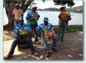 Dominican traditional musicians
