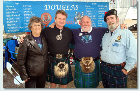 Clan Douglas tent, Central Florida Highland Games 2009