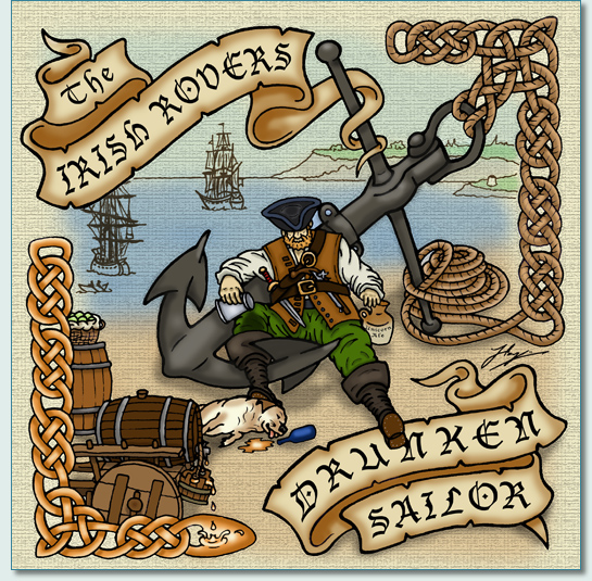 'IRISH ROVERS DRUNKEN SAILOR' by Hamish Burgess © 2011