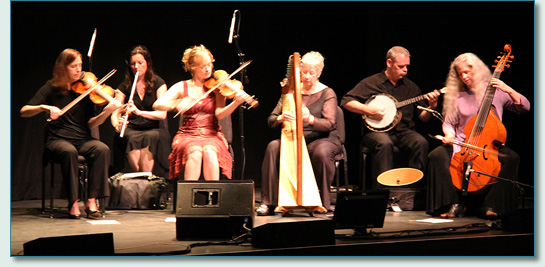 Celtic group Ensemble Galilei at the MAui Arts & Cultural Center, March 2012