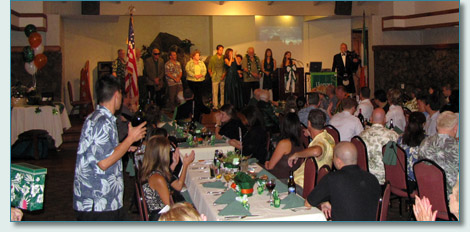 Friends of St.Patrick Society Emerald Ball, Honolulu 2010