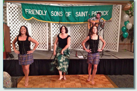 The Celtic Keiki and Kieran Murphy at the Friends of St.Patrick of Hawaii Emerald Ball 2012