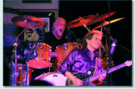 Mick Fleetwood and Rick Vito at Fleetwood's on Front St., Lahaina Maui - August 22nd 2012