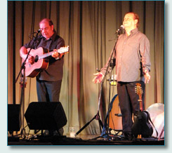 George and Eddie Furey, Festival of the Peninsula, Newtownards, Co.Down, Sept 2010