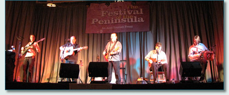The Fureys, Festival of the Peninsula, Newtownards, Co.Down, Sept 2010