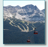 Peak to Peak Gondolas at Whistler Blackcomb, BC, Canada