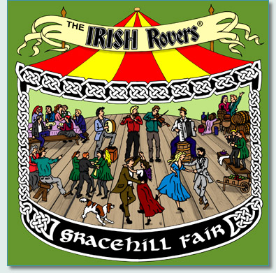'Gracehill Fair' by Hamish Douglas Burgess, album cover of the new Irish Rovers CD Gracehill Fair © 2009