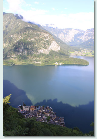 Hallstatt and the Hallstätter See, Austria