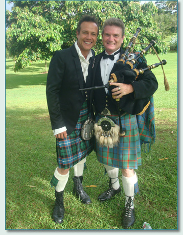 809132d8e9 Hamish has played bagpipes on Celtic music cruise holidays