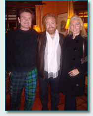 Hamish Burgess, George Millar of the Irish Rovers, and Jennifer Fahrni in Vancouver 2010