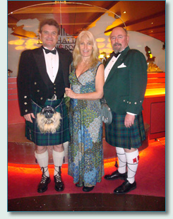 Hamish Burgess, Jennifer Fahrni, and Seamus Kennedy on the Irish Music Cruise 2012
