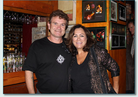 Hamish Burgess & Mary Black at McGrorys of Culdaff, Donegal