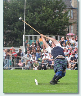 Hammer Throwing at The Gathering 2009, Edinburgh