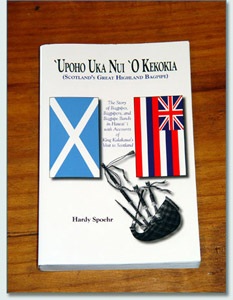 History of Bagpiping in Hawaii book