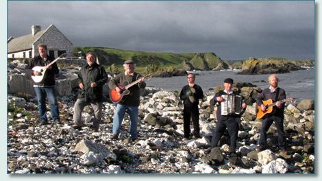 The Irish Rovers at Ballintoy, Co.Antrim, September 2010