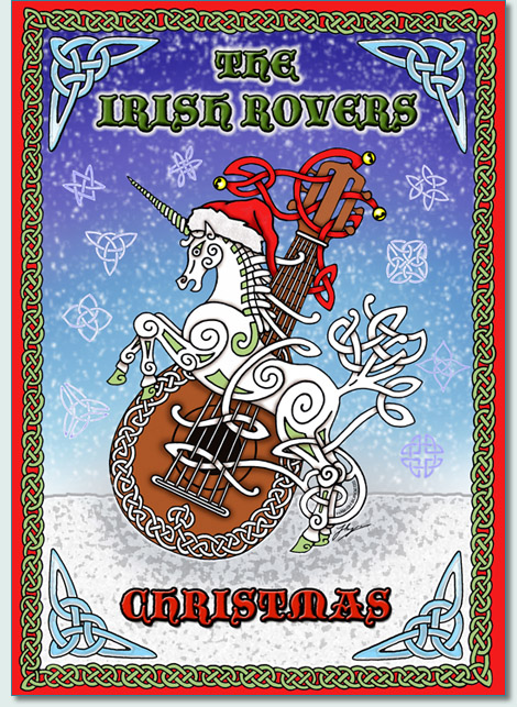 'THE IRISH ROVERS CHRISTMAS' DVD by Hamish Burgess © 2012