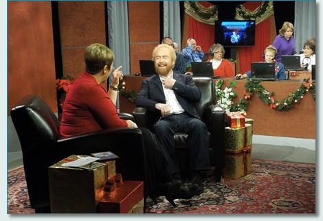 "Cyndy Canty and George Millar on the ""The Irish Rovers Christmas"" on DPTV"