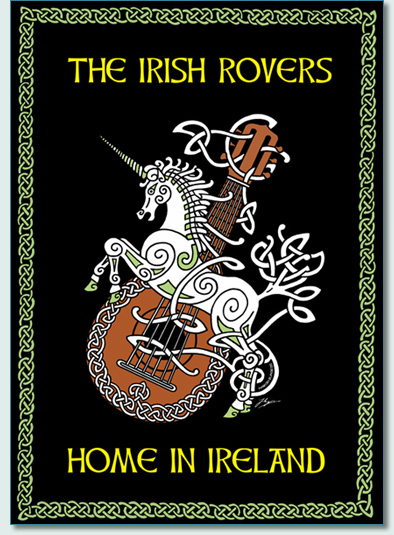IRISH ROVERS 'HOME IN IRELAND' DVD COVER by Hamish Burgess © 2011