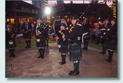 Kenmore & District Pipe Band at the Taste of Scotland Ceilidh at the Willows, Honolulu 2010