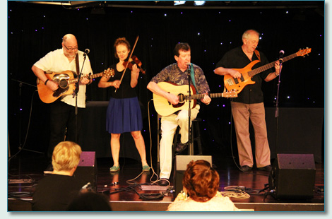 Tom Sweeney and friends - Irish Music Cruise 2012