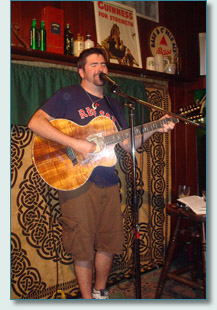 Kieran Murphy at O'Tooles Pub Honolulu March 2010